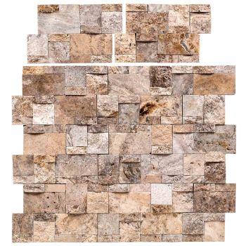 21x30 Silver Panel Bricks Patlatma Taş Tuğla