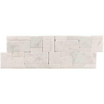 21x30 Beyaz Mozaik Taş Tuğla