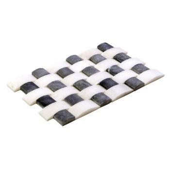 4.8x10-4.8x4.8 White Black