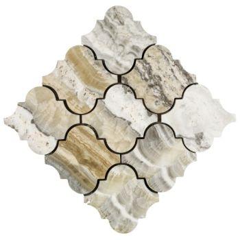 10x10 Adriano 3D Clover Mozaik
