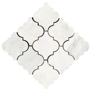 10x10 White Clover Mozaik