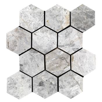 10x10 Tundra Grand Hexagon Mozaik