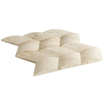 10x10 Travertine Megan Mozaik