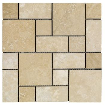 Travertine Pattern Set Mozaik