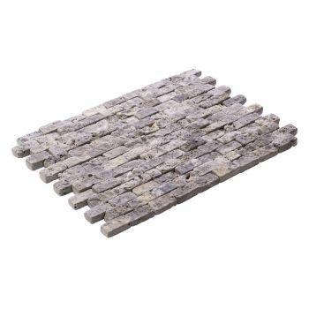 2.3x4.8 Silver Tumbled Patlatma Taş