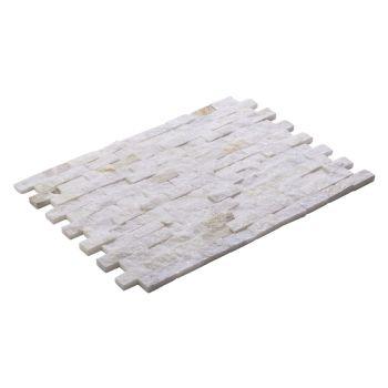 2.3x4.8 Rustic Beyaz Patlatma Taş