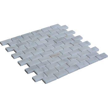 2.3x4.8 White Mozaik Mutfak Tezgah Arası Döşeme