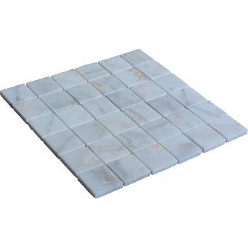5x5 White Mozaik Mutfak Tezgah Arası Döşeme