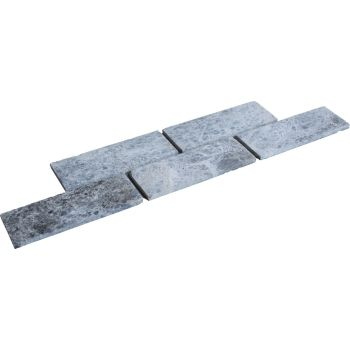 1x7.5x20 Tundra Bricks Mutfak Tezgah Arası Duvar Kaplama Mozaik Doğal Taş