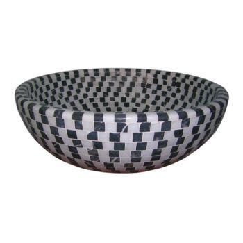 43x16 Siyah Beyaz mozaik